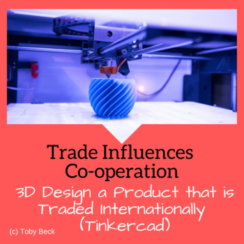 Social Studies Gr.6: Co-operation and Conflict-3D Printing-Design Cycle