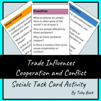 Social Studies Gr.6-Trade Influences Co-operation/Conflict: Design Cycle/Making