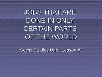 Social Studies - Grade 2 - Jobs