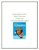 "Social Studies Grade 4 Alberta Curriculum Chapter Two ""The"