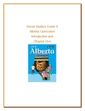 Social Studies Grade 4 Alberta Curriculum Introduction and Chapter One