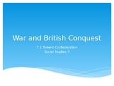 Social Studies Grade 7 Chapter 5 Lessons (War and Conquest) ALBERTA