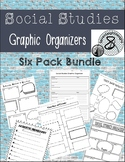 Social Studies Graphic Organizer Bundle