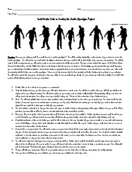 Social Studies Guide to Surviving the Zombie Apocalypse Project