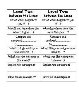 Social Studies- Higher Level Questions