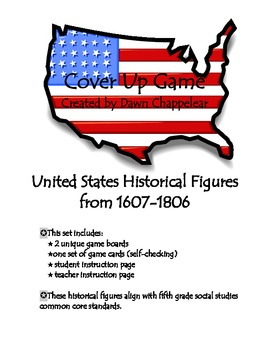 Social Studies Historical Figures from 1607-1806