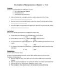 Social Studies History Alive Chapter 12 Test