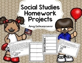 Social Studies Homework Projects