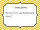 Social Studies I Can Statements Grade 5