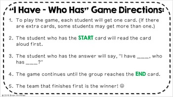 """Social Studies """"I Have... Who Has...?"""" - 8th Grade GMAP Review (Set 2 of 2)"""