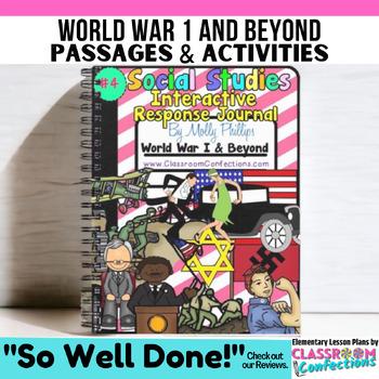 5th Grade Social Studies INTERACTIVE NOTEBOOK: World War I