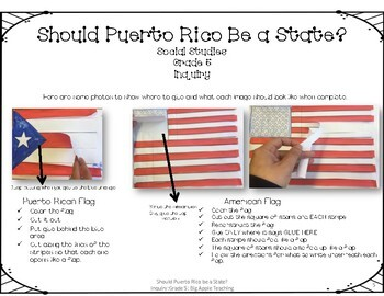 Social Studies Inquiry Grade 5: Should Puerto Rico be a State?
