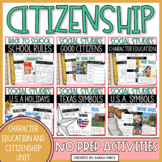 Social Studies Interactive Notebook Bundle: Community Helpers and Symbols