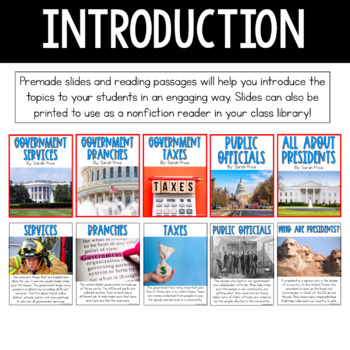 Social Studies Interactive Notebook Unit 2: Government