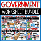 Government Social Studies Interactive Notebook
