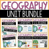 Geography Social Studies Interactive Notebook Activities