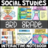 Social Studies Interactive Notebook for 3rd Grade