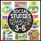 Social Studies Interactive Notebook - 3-5 Bundle