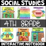 Social Studies Interactive Notebook for 4th Grade - Indian