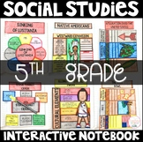 Social Studies Interactive Notebook - 5th Grade New Deal,