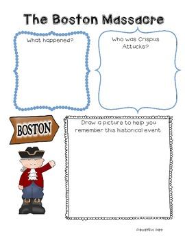 Social Studies Interactive Notebook Activities for the American Revolution!