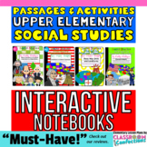 4th Grade Social Studies Interactive Notebook [American Re