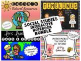 Social Studies Interactive Notebook Bundle-Grade 2