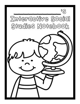 Social Studies Interactive Notebook Cover Page