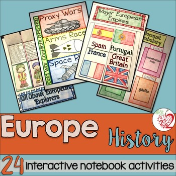 European History Social Studies Interactive Notebook