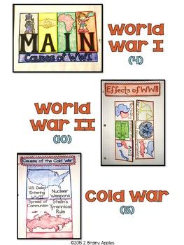 European History Social Studies Interactive Notebook