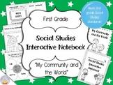 Social Studies Interactive Notebook - First Grade - Standard 2