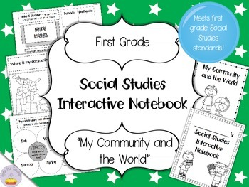 Geography and communities teaching resources teachers pay teachers social studies interactive notebook first grade standard 2 fandeluxe Images