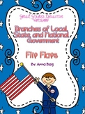 Social Studies Interactive Notebook Flip Flaps for Government