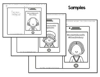 Social Studies Interactive Notebook {Historical Figure Selfies}