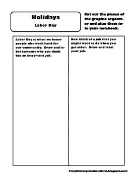 Social Studies Interactive Notebook K-2