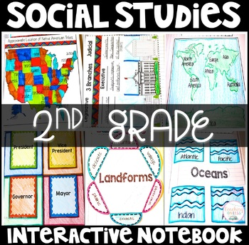 Social Studies Interactive Notebook (K-2)