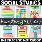 Social Studies Interactive Notebook for Kindergarten