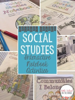 Social Studies Interactive Notebook Activities for the Ent