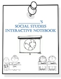 Social Studies Interactive Notebook Title Page