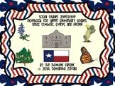 Social Studies Interactive Notebook for Upper Elementary Grades: Texas Symbols