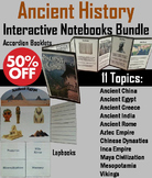 Ancient Civilizations Interactive Notebooks Activity China Egypt Greece Rome etc