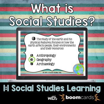 Social Studies Interactive Task Cards