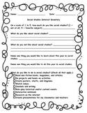 Social Studies Interest Inventory