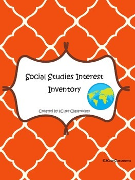 Social Studies Interest Inventory Quiz and Pre-test
