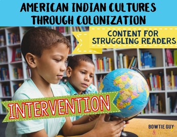 Social Studies Intervention Level Pack {Differentiated Reading Passages}