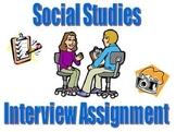 Social Studies Interview Project