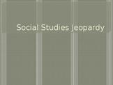 Social Studies Jeopardy Round 2