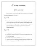 6th Grade Social Studies Journal (Aligned to Georgia Standards)