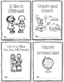 Social Studies Journal Bundle - Citizenship, Wants/Needs,