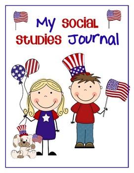 Social Studies Journal for Kinders - Citizenship 01